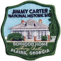 Jimmy Carter National Historic Site Embroidered Patch