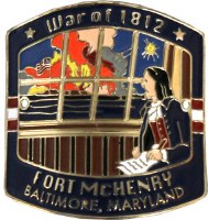 Fort McHenry Hiking Medallion
