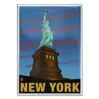 Statue of Liberty New York Magnet