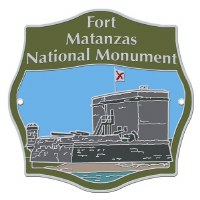 Fort Matanzas National Monument Hiking Stick Medallion
