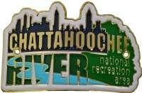 Chattahoochee River Hiking Medallion