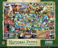 America's National Parks 1,000 Piece Puzzle