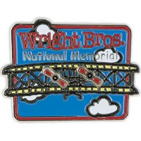 Flying Wright Brothers Pin