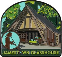 Jamestown Glasshouse Collectible Magnet