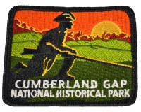 Cumberland Gap National Historical Park Embroidered Patch - Pioneer