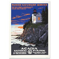 Acadia National Park WPA Travel Poster