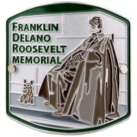 Franklin Delano Roosevelt Memorial Hiking Medallion