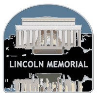 Lincoln Memorial Collectible Lapel Pin