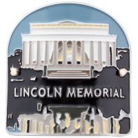 Lincoln Memorial Hiking Medallion