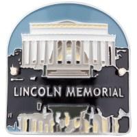 Lincoln Memorial Hiking Medallion