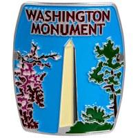 Washington Monument Hiking Stick Medallion