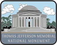 Thomas Jefferson Memorial National Monument Hiking Stick Medallion