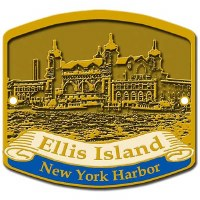 Ellis Island NY Harbor Hiking Medallion