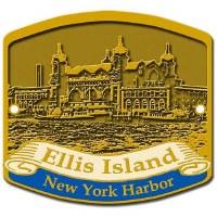 Ellis Island NY Harbor Hiking Medallion