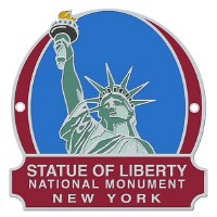 Statue of Liberty National Monument Hiking Medallion