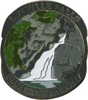 Blue Ridge Parkway Linville Falls Lapel Pin