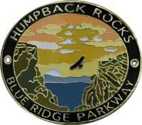 Humpback Rocks, Blue Ridge Parkway Hiking Medallion