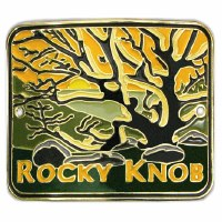 Rocky Knob, Blue Ridge Parkway Hiking Medallion