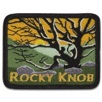 Rocky Knob, Blue Ridge Parkway Patch