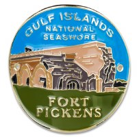 Fort Pickens Hiking Medallion