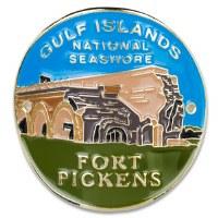 Fort Pickens Hiking Medallion
