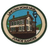 Lincoln Home NHS Junior Ranger Patch