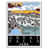 Great Falls Park Hiking Stick Medallion