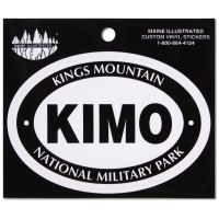 Kings Mountain National Military Park Vinyl Decal
