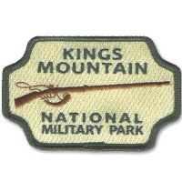 Kings Mountain National Military Park Embroidered Patch