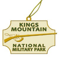 Kings Mountain National Military Park Ornament