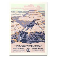 Grand Canyon Classic WPA Travel Poster