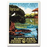 Everglades National Park WPA Travel Poster