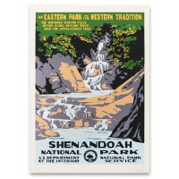 Shenandoah National Park WPA Poster