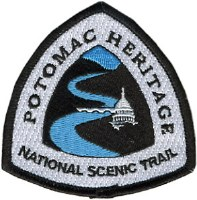 Potomac Heritage National Scenic Trail Embroidered Patch