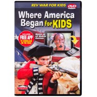 Where America Began for Kids DVD
