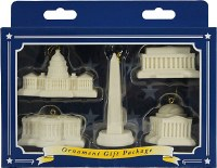 National Mall & Memorial Parks Set of 5 Ornaments