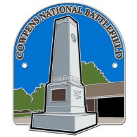 Cowpens National Battlefield Hiking Stick Medallion