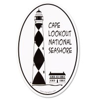Cape Lookout Lighthouse Decal