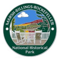 Marsh-Billings-Rockefeller National Historical Park Hiking Stick Medallion