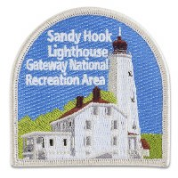 Sandy Hook Lighthouse Collectible Patch
