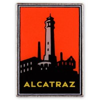 Alcatraz Island Collectible Pin