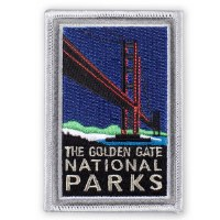 The Golden Gate National Parks Iron-On Patch