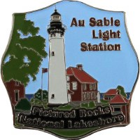 Au Sable Light Station Magnet