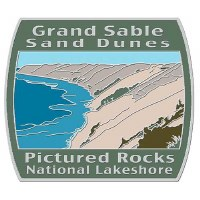 Grand Sable Sand Dunes Pictured Rocks National Lakeshore Pin