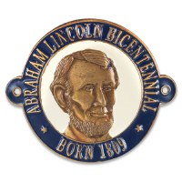 Abraham Lincoln Bicentennial Hiking Medallion