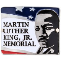 Martin Luther King Jr Hiking Medallion