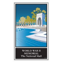 World War II Memorial Lapel Pin