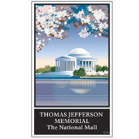 Thomas Jefferson Memorial Pin
