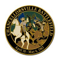 Chancellorsville Battlefield Lapel Pin