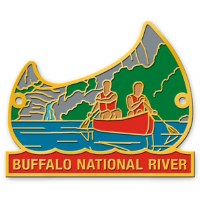Buffalo National River Hiking Stick Medallion